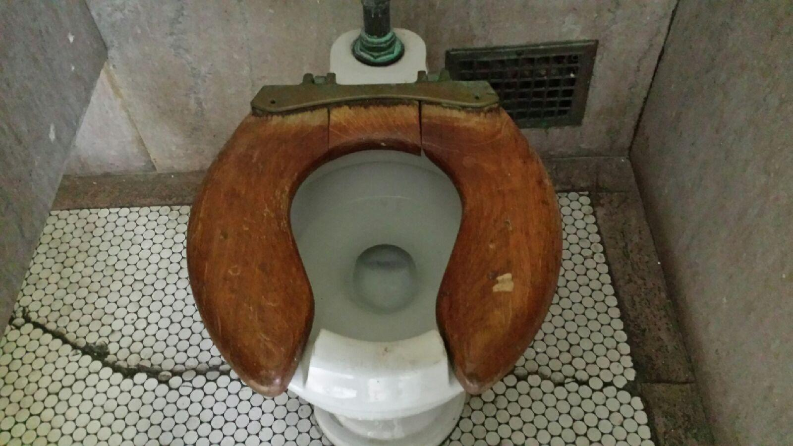 Old fashioned toilet seats 63