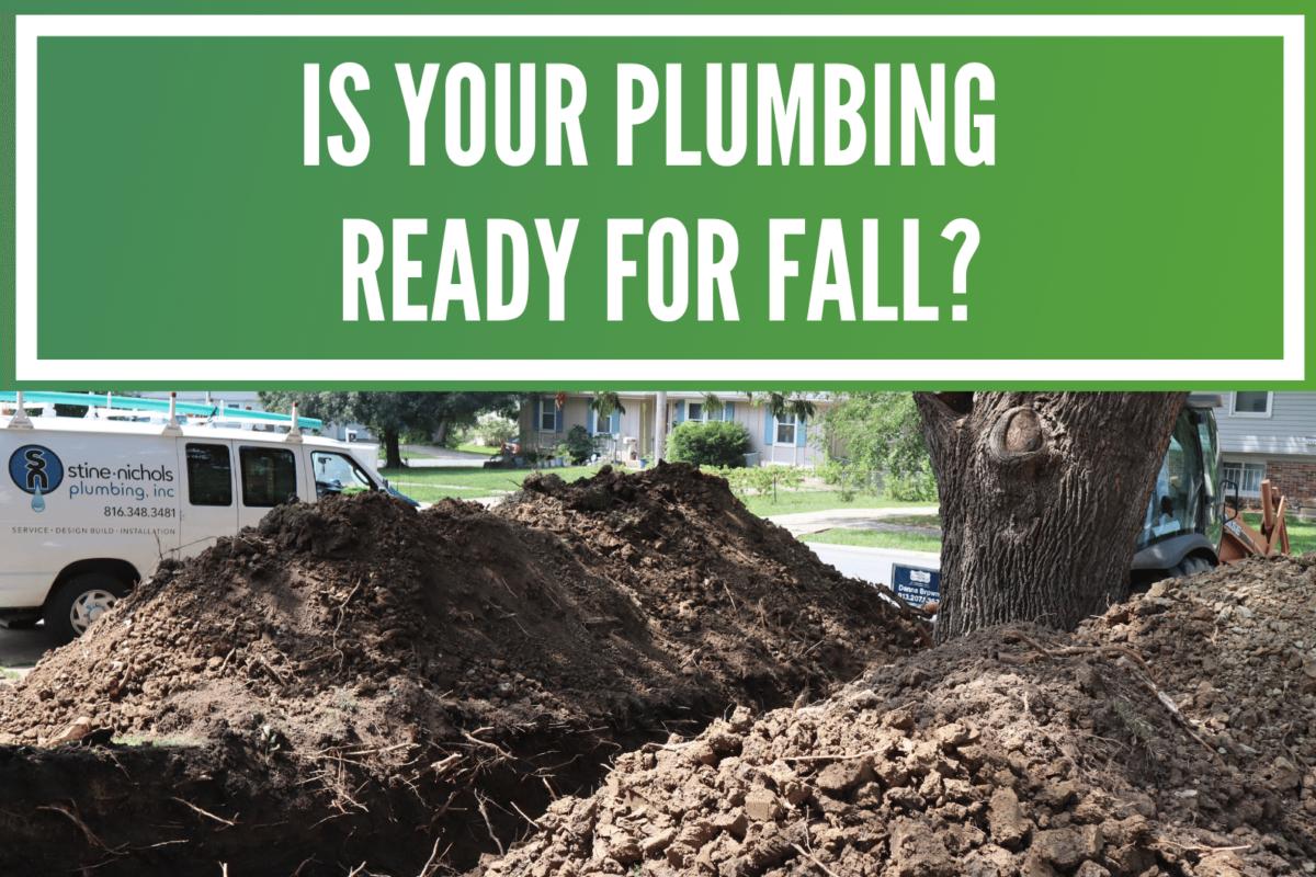 Plumbing Fall Checklist