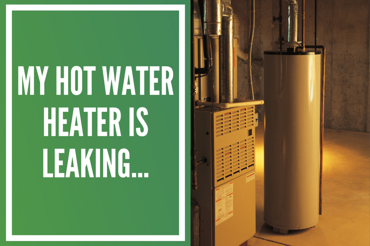 Leaking Hot Water Heater