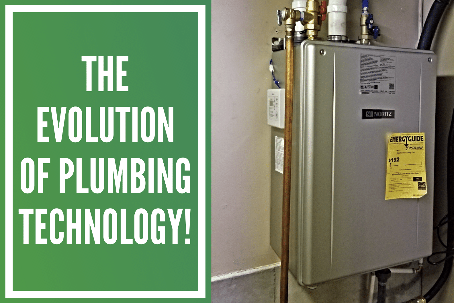 plumbing evolution blog thumbnail