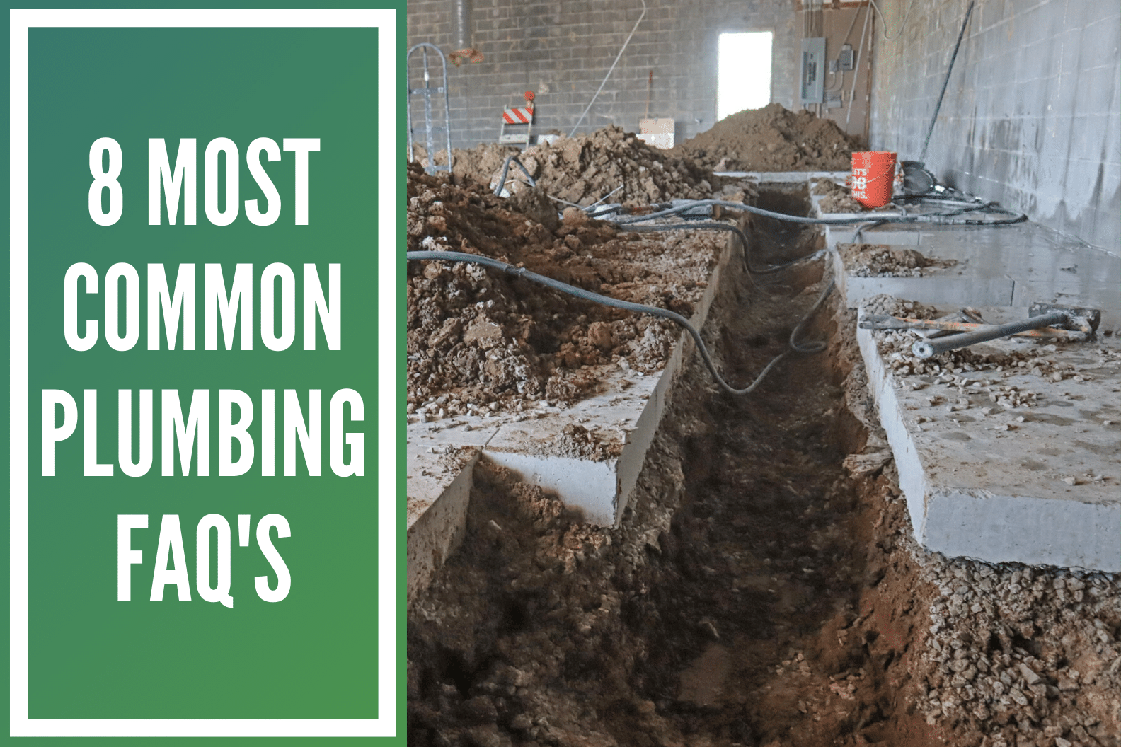 Most Common Plumbing FAQ's
